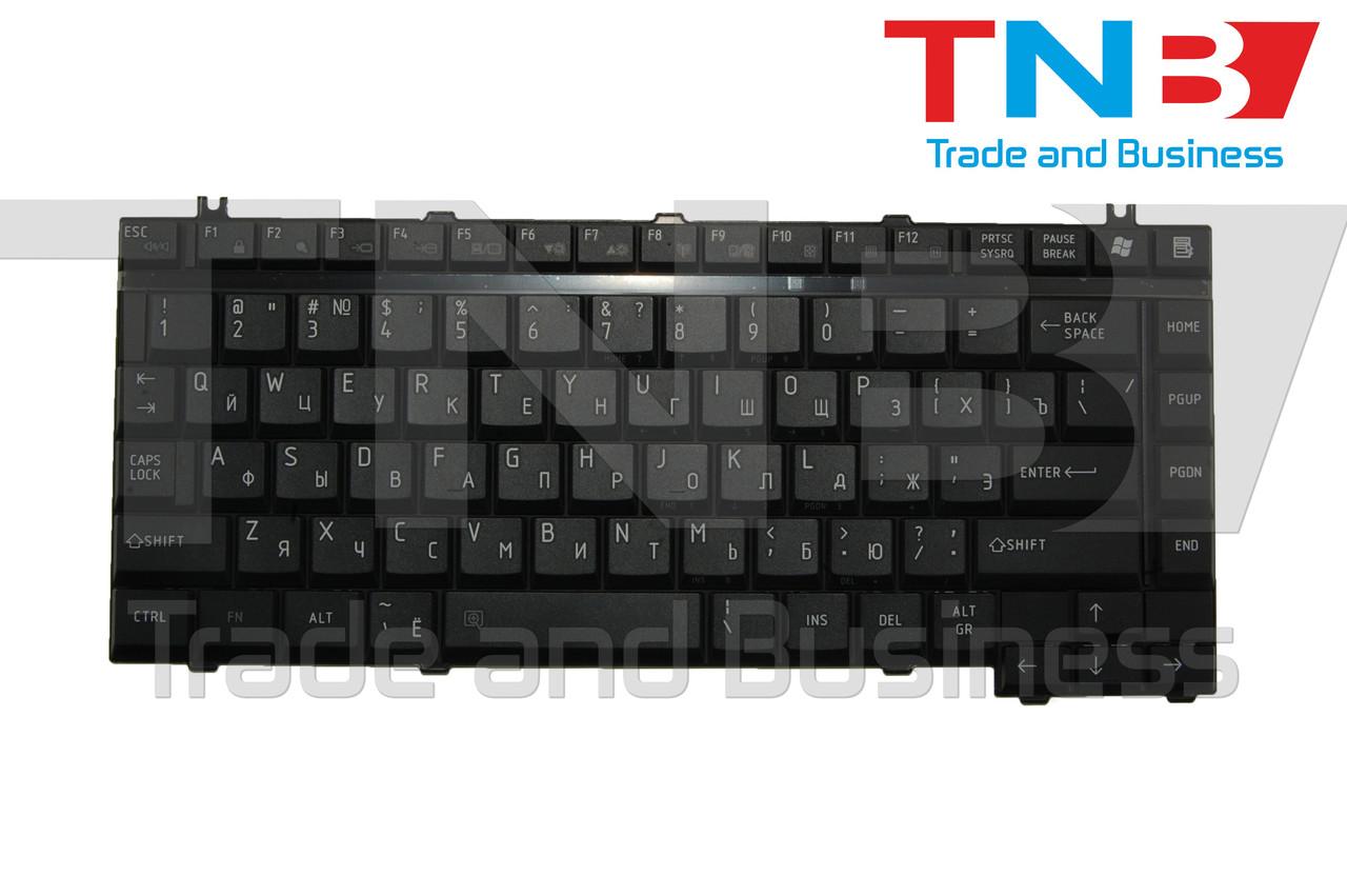 Клавіатура TOSHIBA A130 A135 M30 M30X Черная