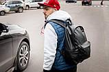 Рюкзак чоловічий міської шкіряний TRIGGER wlkr, фото 8