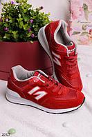 Женские кроссовки Несси темно-красные
