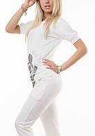 Женский Спортивный костюм Микки Маус Турция молочный реглан, фото 1