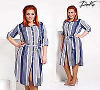 Платье женское летнее большие размеры /р4115.1 , фото 1