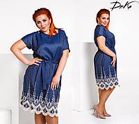 Платье женское летнее большие размеры /р1570, фото 1