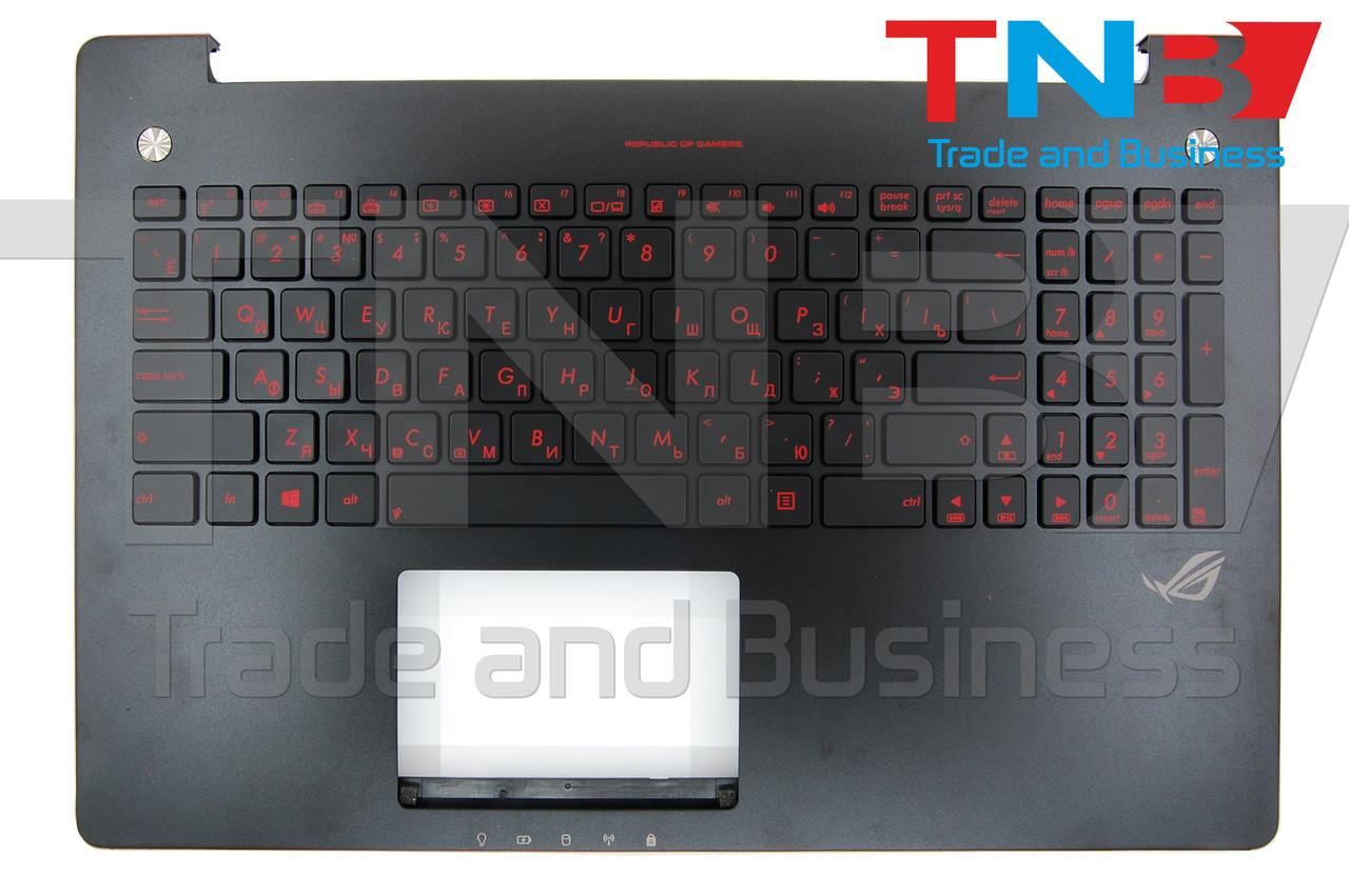 Клавиатура ASUS G550JX Черная топкейс+подсветка