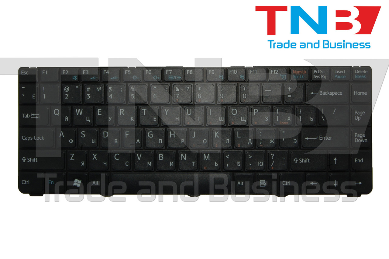 Клавіатура SONY Vaio VGN-NS31M чорна оригінал