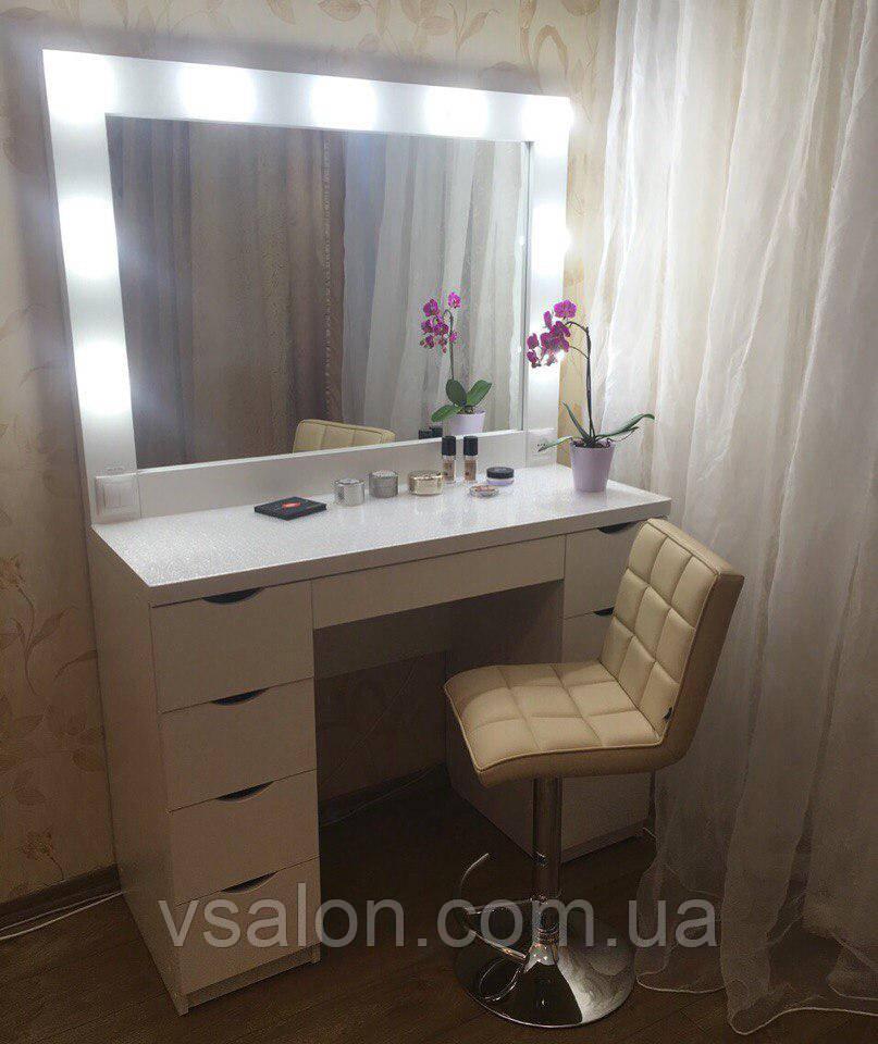 Гримерный стол с зеркалом в раме V51/2