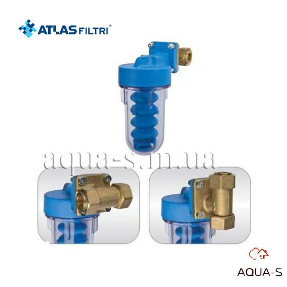 """Фильтр-дозатор с полифосфатом Atlas Filtri Dosaplus7 3/4""""-1"""" поворотный RE4050520"""