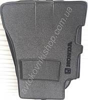 Ворсовые коврики Honda CR-V 2002- АКП (5 дверей) VIP ЛЮКС АВТО-ВОРС