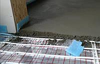 Бетонная (цементная) стяжка пола