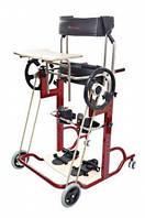 Опоры нижних конечностей и туловища для обеспечения вертикализации и передвижения инвалидов Парапион Актив. Статический вертикализатор. Размер 3