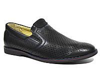 Стильные туфли для мальчика, Calorie black, 34