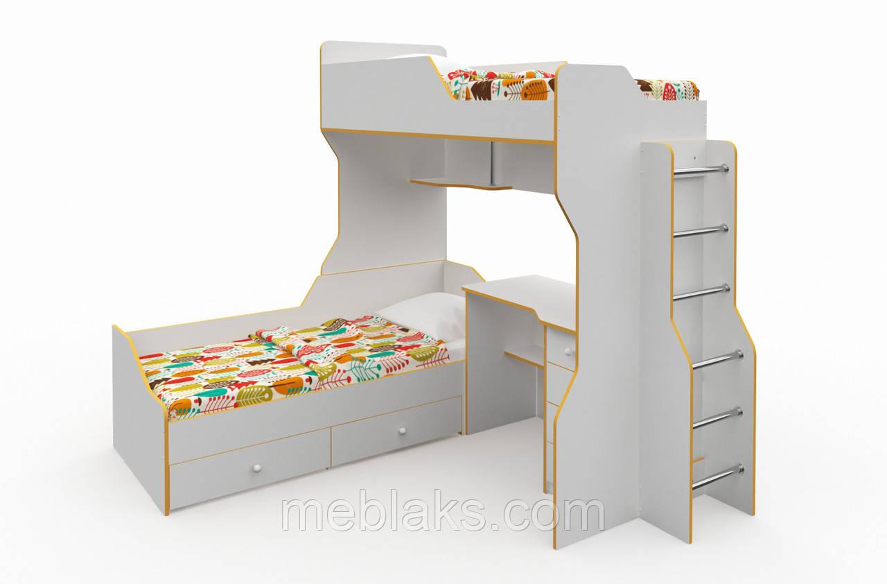 Детская двухъярусная кровать «Лимбо»