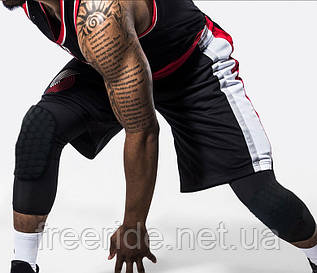 Спортивные защитные баскетбольные наколенники (1шт)