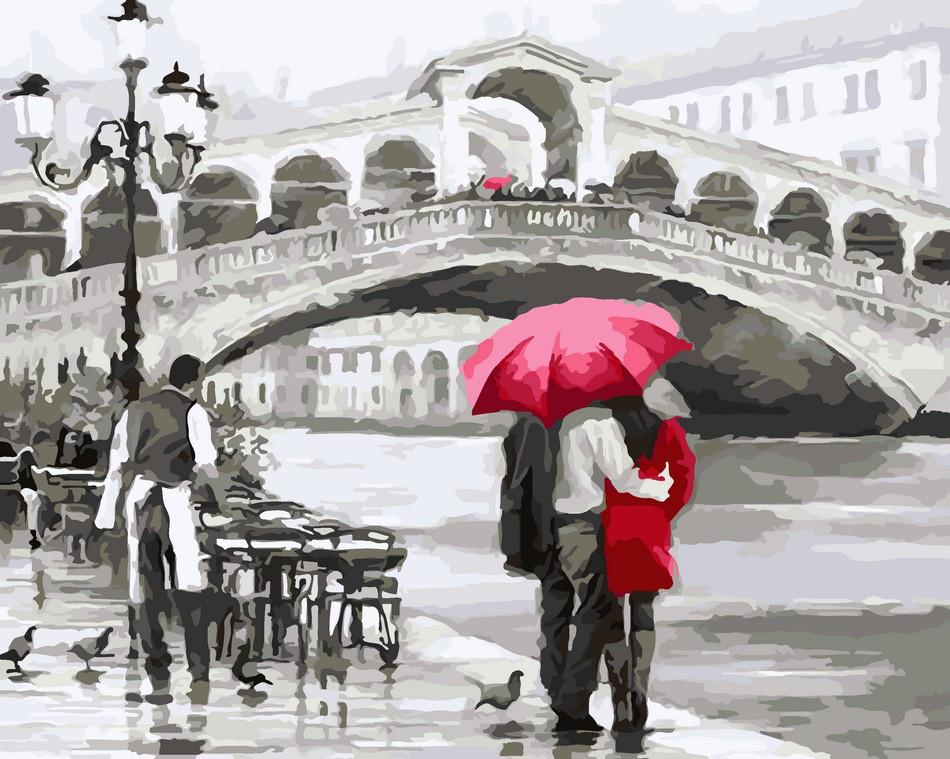 Живопись по номерам Отражение Венеции ArtStory AS0044 40 х 50 см