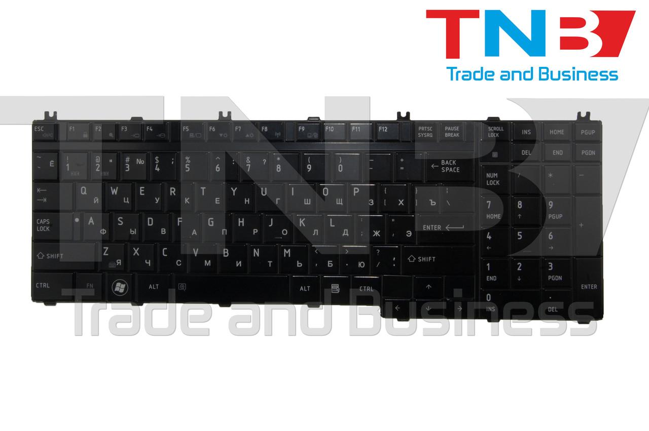 Клавіатура TOSHIBA X505 L500D P300 подсветка