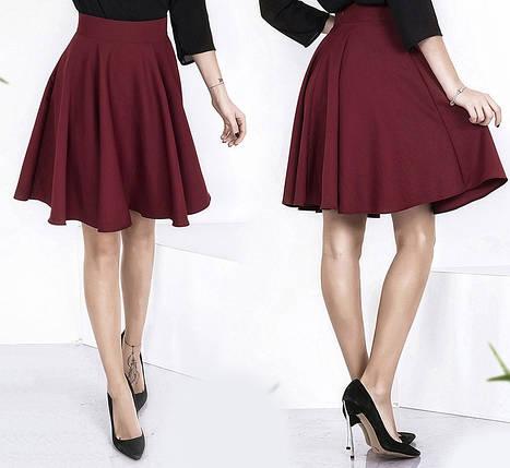 Однотонная юбка, фото 2