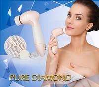 Прибор для ухода за кожей лица и тела US MEDICA Pure Diamond (розовый)               арт. UM18470