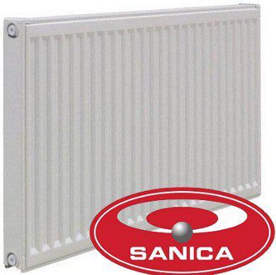 Радиатор тип 11 500H x 400L стальной SANICA