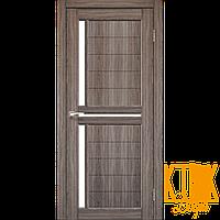 """Межкомнатная дверь коллекции """"Scalea"""" SC-04 со стеклом сатин (дуб грей)"""