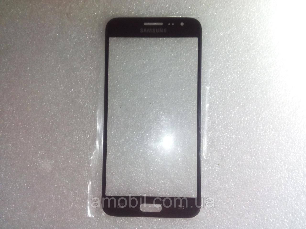 Стекло дисплея Samsung J320 Galaxy J3 Duos,чёрное