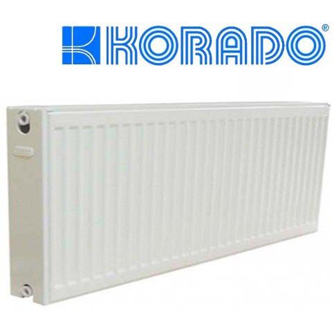 Радиатор Тип 33K H=300 L=700 стальной Korado (боковое)