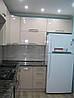 Кухня с МДФ фасадом розовый перламутр, фото 3
