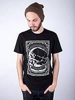 Футболка Punch Always Outlaw Skull Black, фото 1