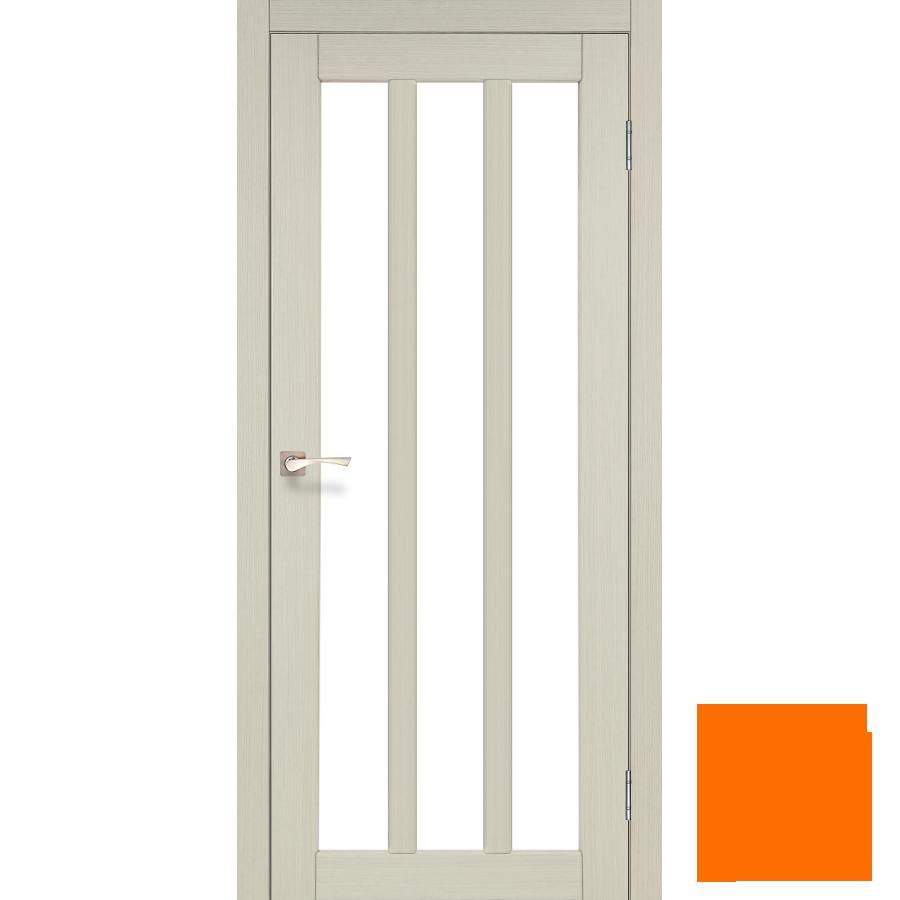 """Межкомнатная дверь коллекции """"Napoli"""" NP-02 со стеклом сатин (дуб беленый)"""
