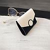 Кошелек портмоне женский двухцветный черно-белый, фото 3