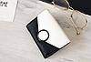Кошелек портмоне женский двухцветный черно-белый, фото 4