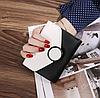 Кошелек портмоне женский двухцветный черно-белый, фото 5