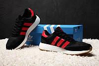 Мужские кроссовки Adidas Iniki Топ (копия - ААА+  - Текстиль+замша натур. подошва: пена Раз-ры: 41-45  Вьетнам, фото 1
