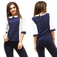 2fd7e846d12 В наличии женская блузка. Блузка больших размеров с сеткой 42
