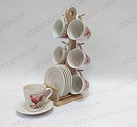 Чайный сервиз Krauff 24-269-004 Village 12 предметов
