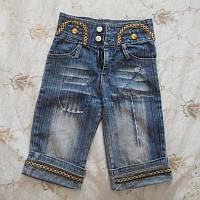 Джинсовые шорты для девочки Б/У