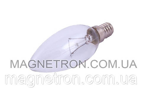 Лампа подсветки цокольная для вытяжек 40W E14 Binetti