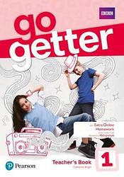 GoGetter 1 Teacher's Book with MyEnglish Lab & Online Extra Home Work + DVD-ROM Pack (книга учителя)