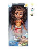 Лялька Моана 3814 музика, світло
