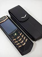 Мобильный телефон VERTU SIGNATURE S DESIGN клавиши в розовом золоте
