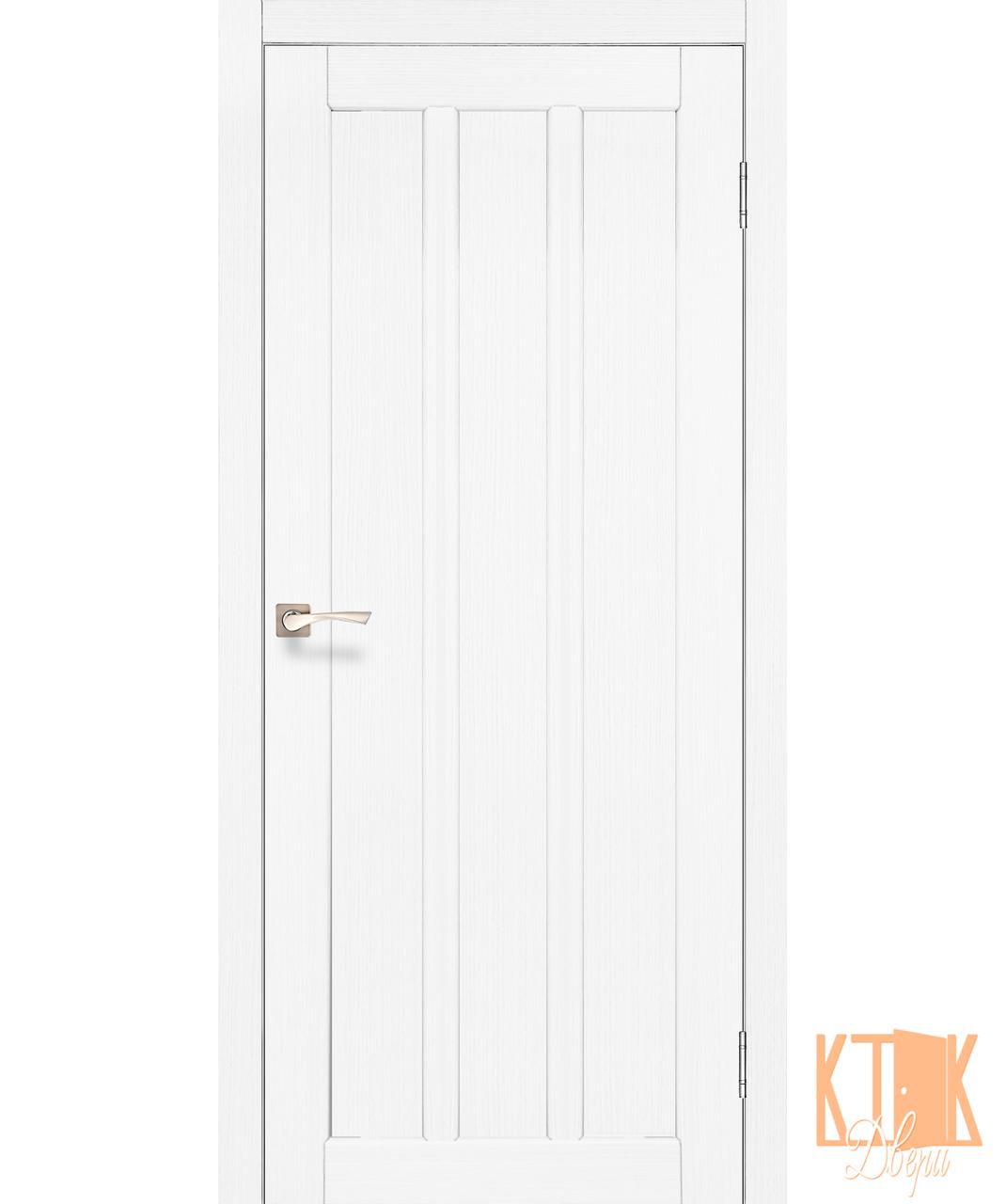 """Міжкімнатні двері колекції """"Napoli"""" NP-04 полотно глухе (ясен білий)"""