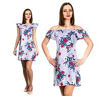 Платье женское ( коттон; р-ры S - XL )