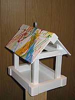 Кормушка для птиц садовая декор, фото 1