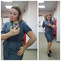 Платье женское ( штапель; р-ры 52 - 56 )