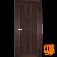 """Межкомнатная дверь коллекции """"Napoli"""" NP-04 полотно глухое (орех)"""