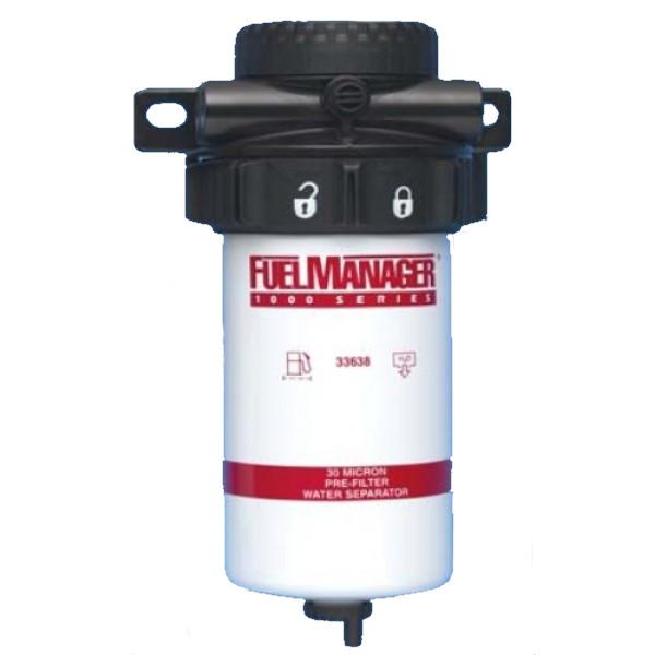 Сепаратор дизельного топлива в сборе Stanadyne FM1000 (30 микрон)