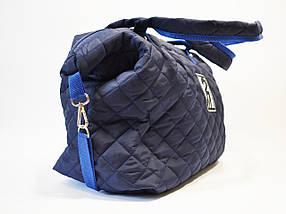 Сумка синяя текстильная Wallaby C3, фото 3