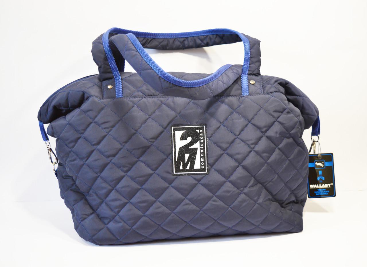 Сумка синяя текстильная Wallaby C3