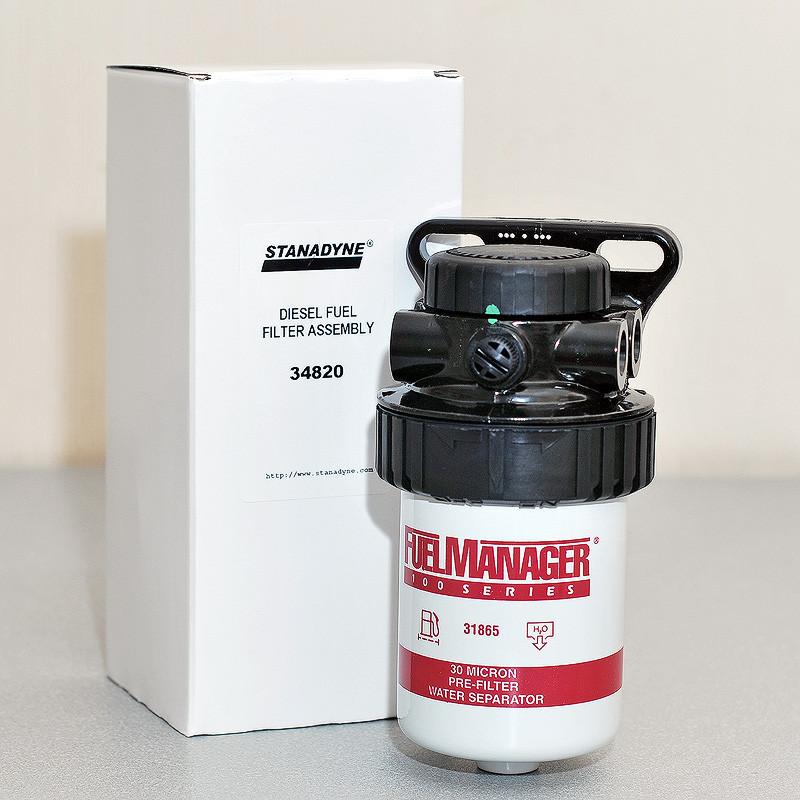 Сепаратор топлива в сборе FM100 (30 микрон)
