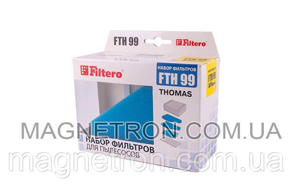Набор фильтров Filtero FTH 99 для пылесоса Thomas серии XT/XS, фото 2