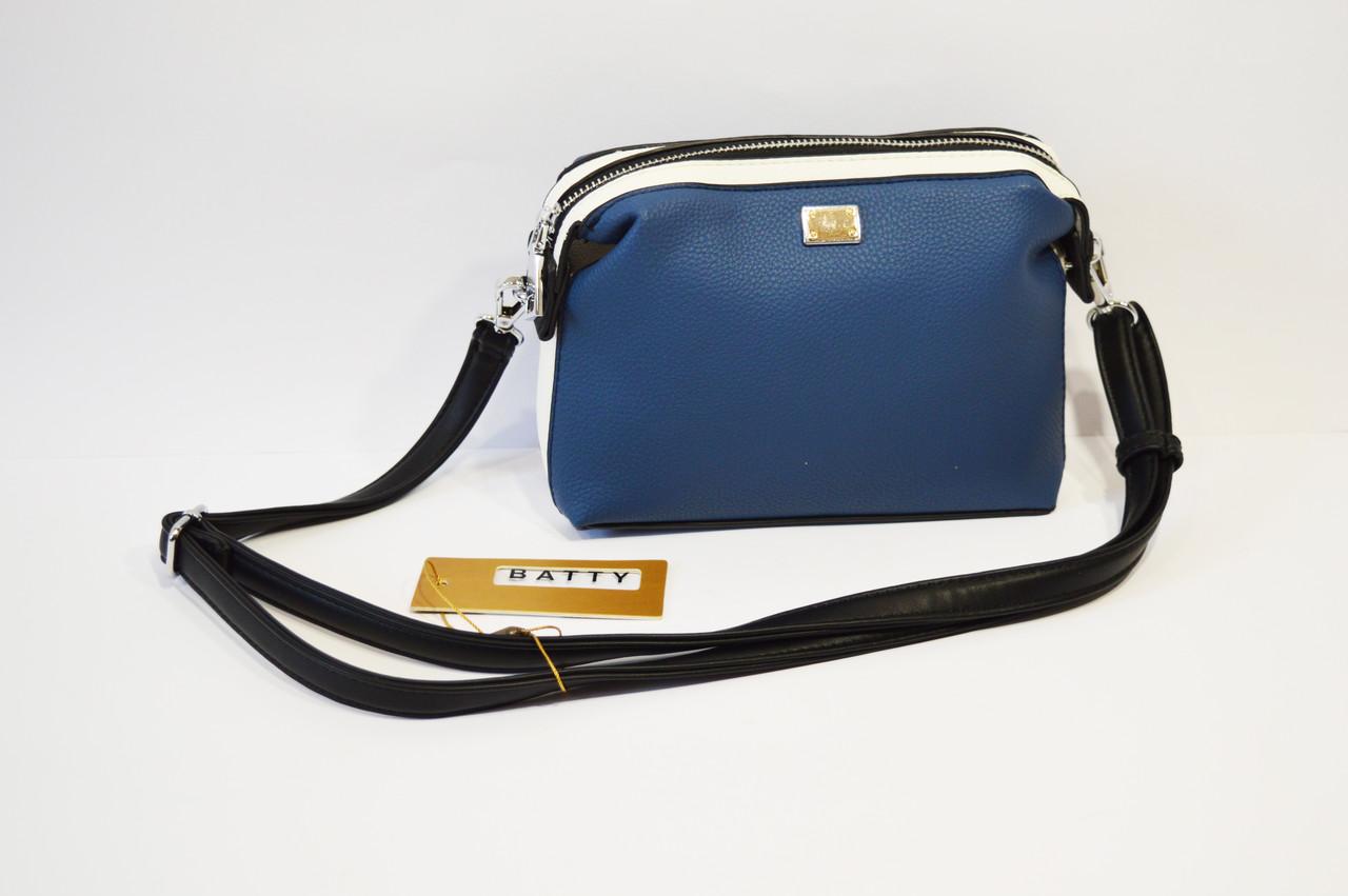 a0bf2fdaa08d Сумка женская маленькая синяя Batty 2226 - КРЕЩАТИК - интернет магазин  обуви в Александрии