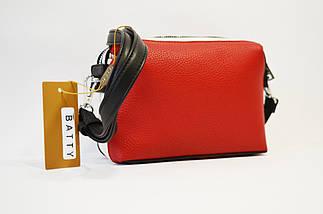 Сумка женская маленькая красная Batty 2226, фото 2